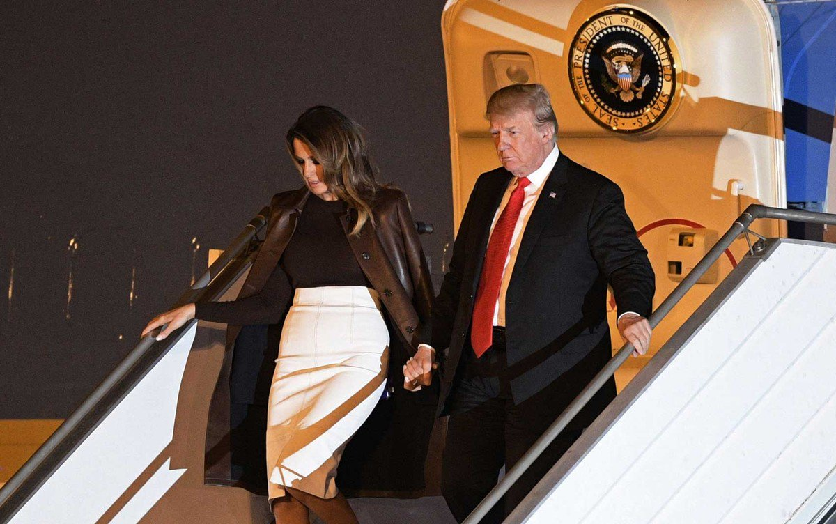 Trump chega a Buenos Aires para reunião do G20