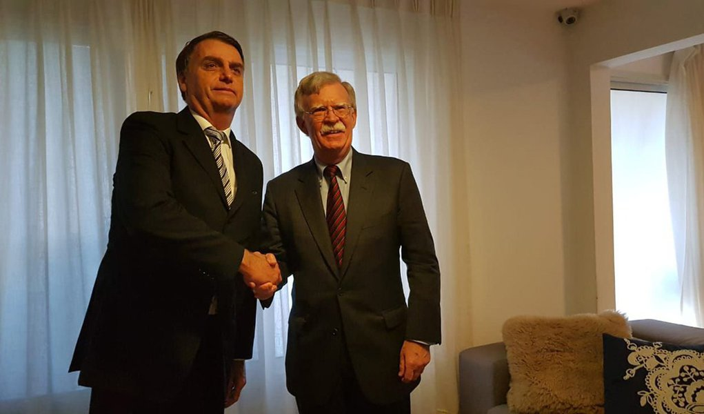 Na pauta de Bolsonaro e Bolton, Jerusalém e medidas contra Venezuela e Cuba