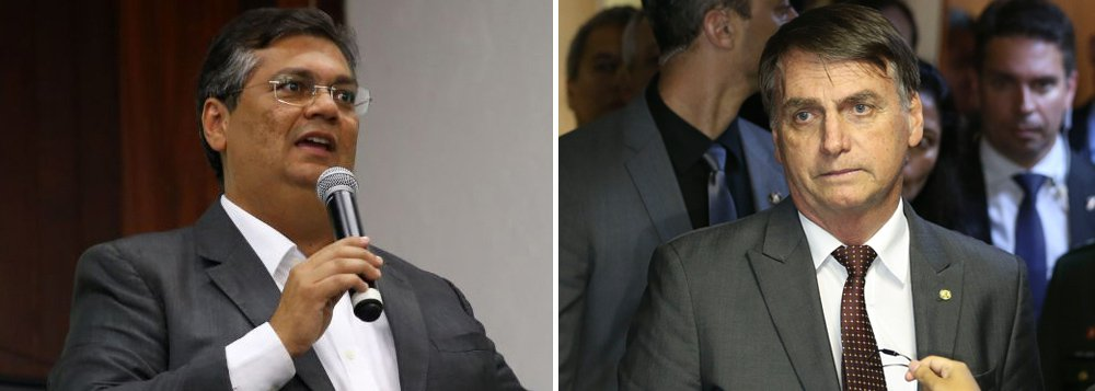 Dino se levanta contra o Brasil colônia de Bolsonaro