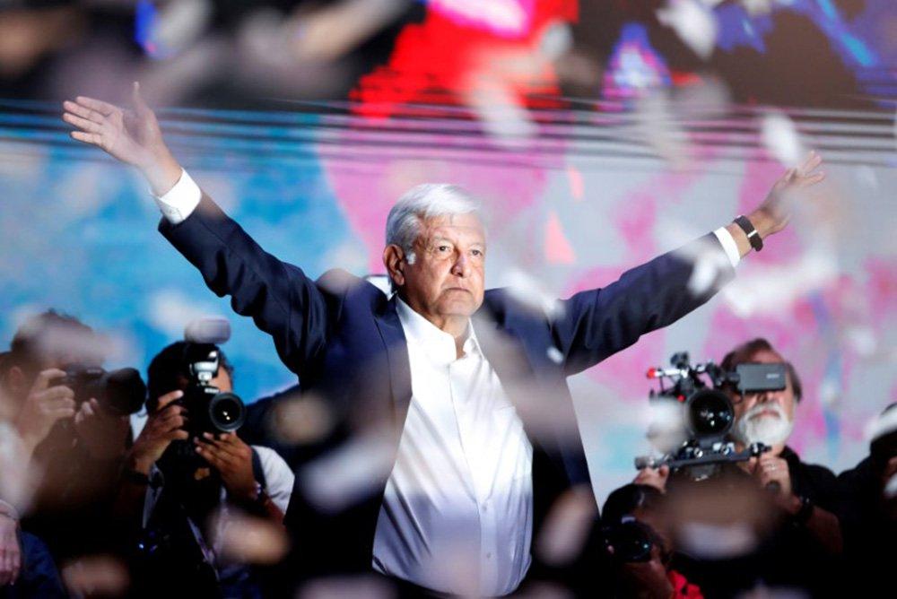 """Na contramão, novo presidente do México é visto como """"esperança para América Latina"""""""