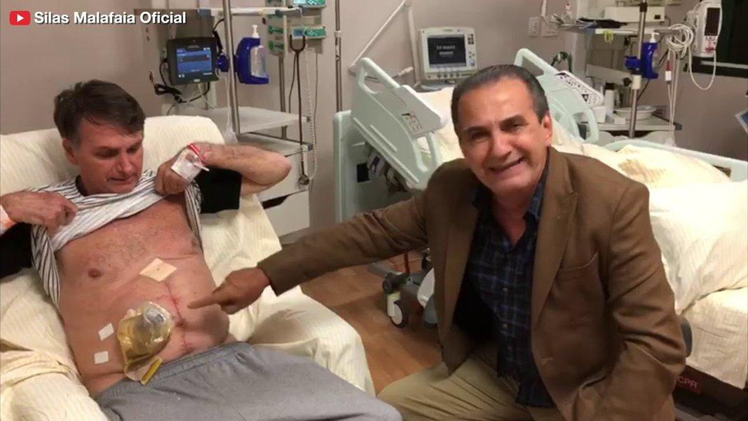 Bolsonaro ignora Magno Malta e apanha de Malafaia