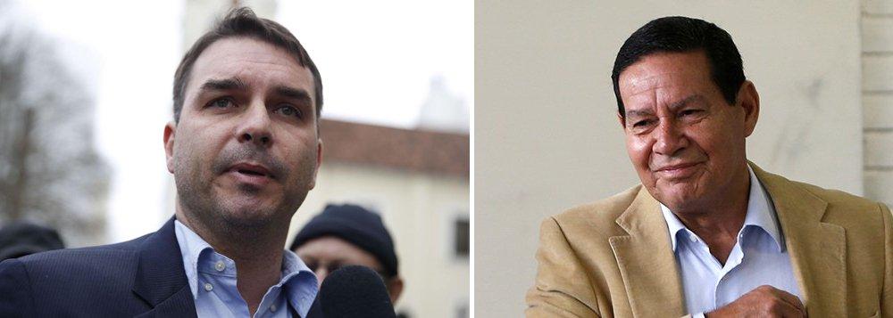 Mais um filho de Bolsonaro confirma embaixada em Jerusalém, contra os interesses nacionais