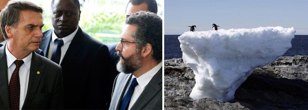 Brasil, que agora nega aquecimento global, desiste de sediar cúpula ambiental