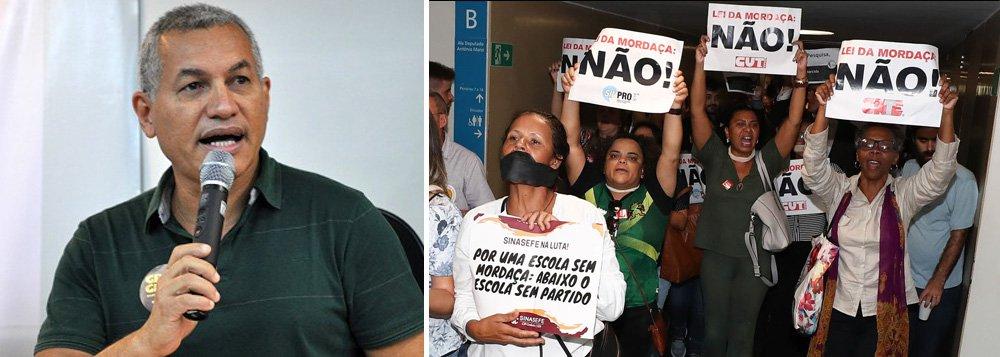 Heleno Araújo: o professor não pode se intimidar com Escola sem Partido