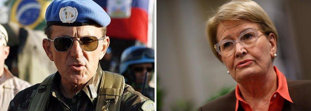 General cuidará da imprensa e 'Ana do Relho' será porta-voz de Bolsonaro