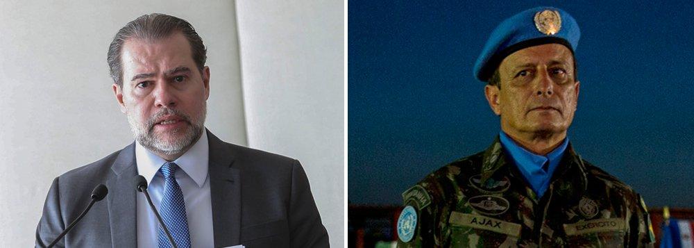 Novo general de Toffoli fez campanha por Bolsonaro