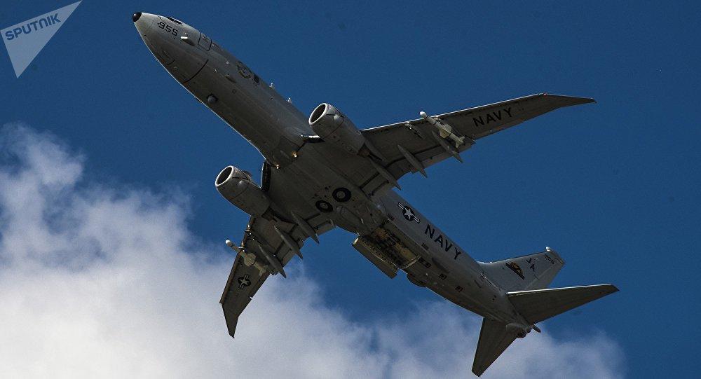 Avião espião dos EUA sobrevoa local do incidente entre navios russos e ucranianos