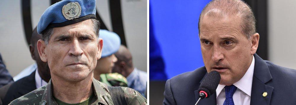 Bolsonaro: Onyx comanda articulação, mas general Santos Cruz participa