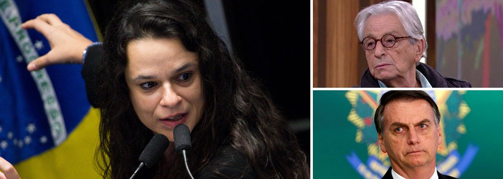 Janaina Paschoal indica Gabeira para ministério de Bolsonaro