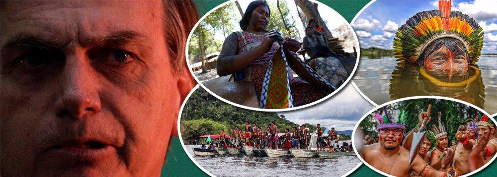 Sondagem 247: para 90%, Bolsonaro está errado sobre reservas indígenas
