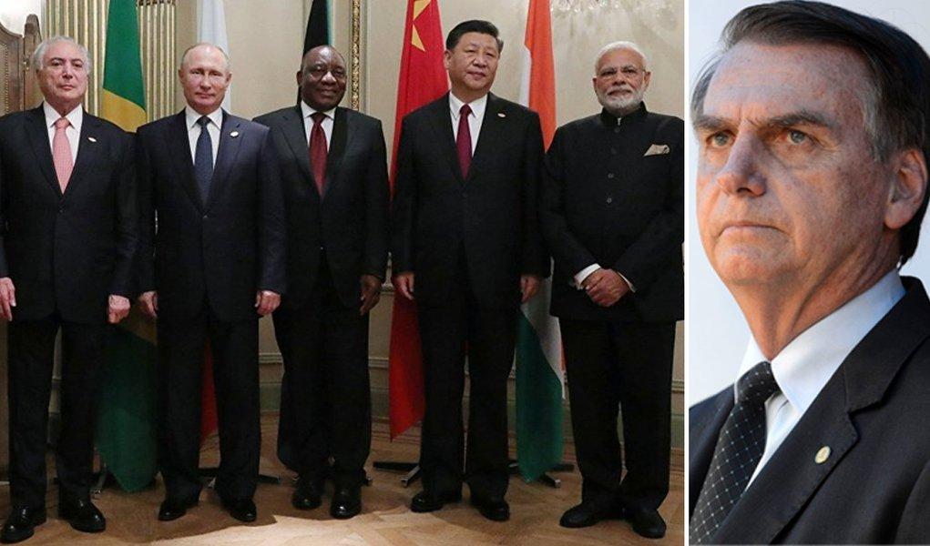 BRICs assumem defesa da globalização, atacada pelos EUA e Bolsonaro