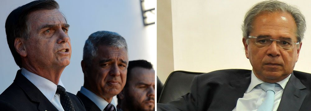 Bolsonaro desafia Guedes e diz que reforma da Previdência mata idosos