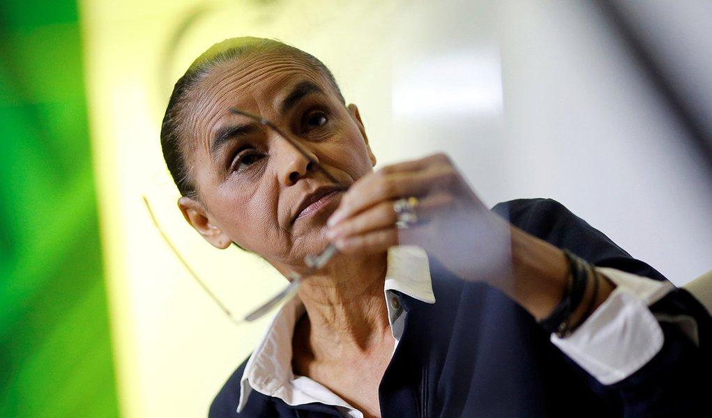 Marina diz que Judiciário 'socorre a política diante de caos ético'