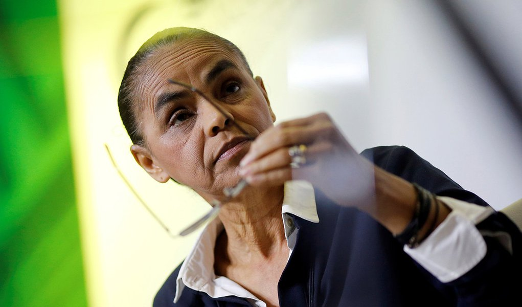 'De jeito nenhum', diz Marina a Alckmin