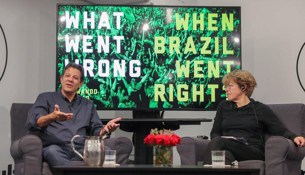 Haddad: precisamos nos unir para enfrentar o obscurantismo