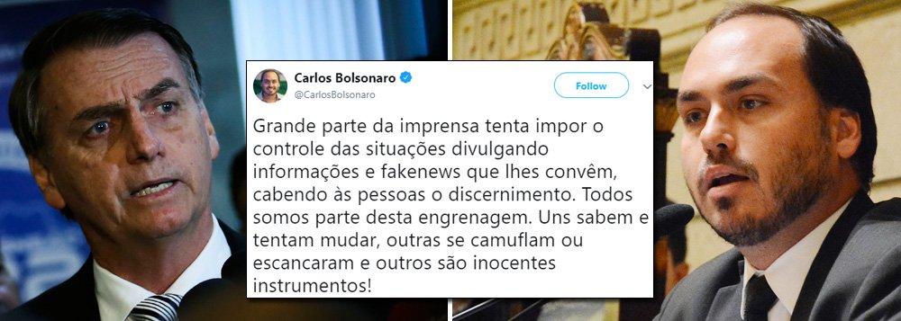 Confirmado: Bolsonaro convidou o filho para ser ministro da Secom