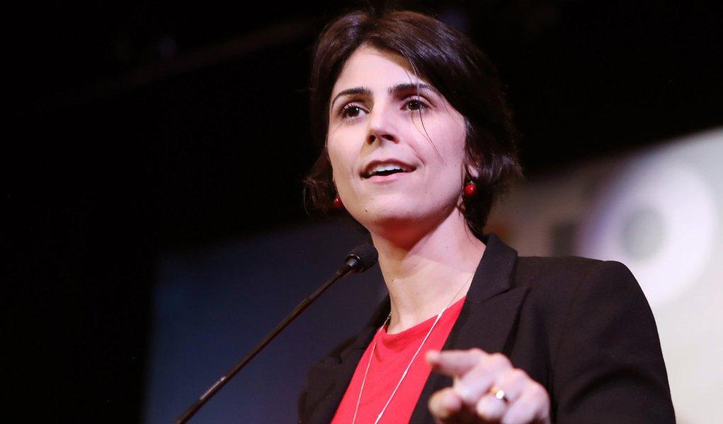 Manuela lembra 3 anos do golpe: momento infame da história brasileira