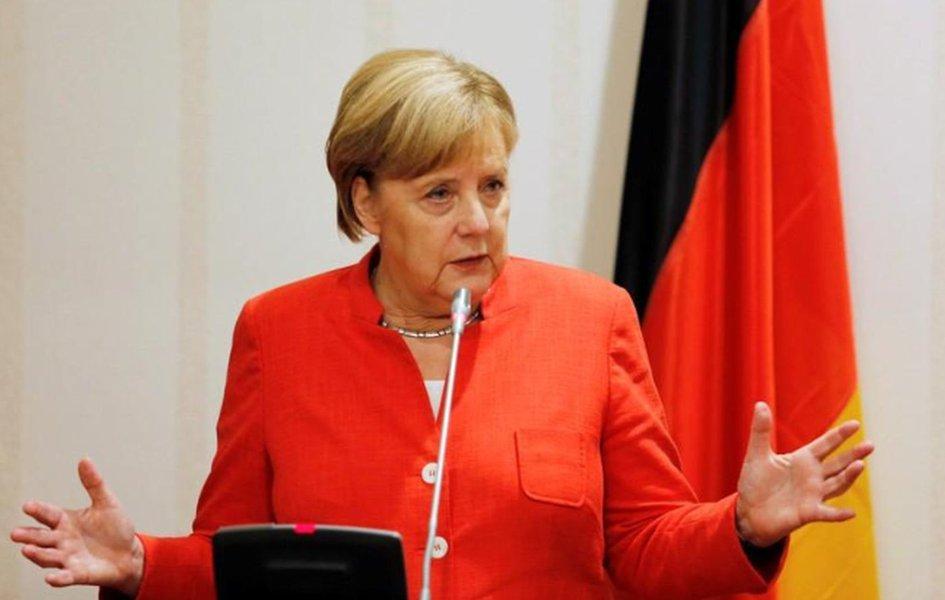 Merkel pede ação conjunta da Europa contra protecionismo dos Estados Unidos