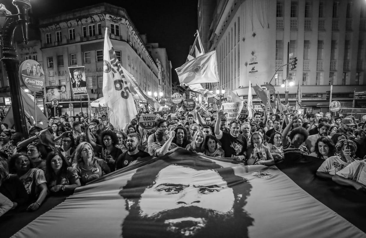 Lula foi a estrela do primeiro programa eleitoral