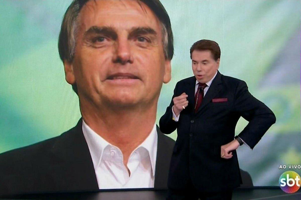 Em encontro fora da agenda, Bolsonaro almoça com Silvio Santos