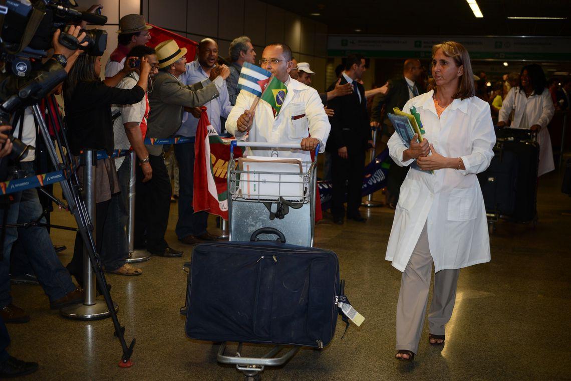 Médicos cubanos: o nosso muito obrigado