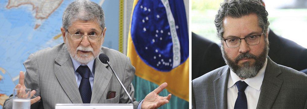 Celso Amorim: novo chanceler coloca o Brasil na Idade Média
