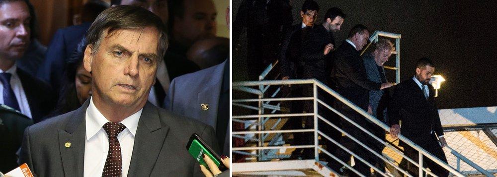 Lula e a profecia de Bolsonaro: 'vai apodrecer na cadeia'