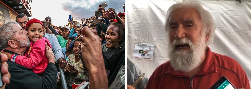 Usam Lula como troféu para sustentar mentiras, diz Boff