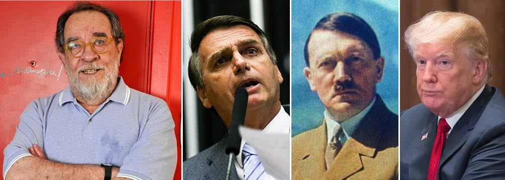 Fernando Morais: vamos torcer para que Bolsonaro seja Trump e não Hitler