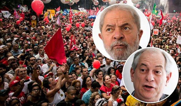 Frente democrática precisa de Lula e Ciro unidos