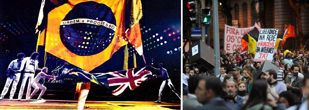 Banda Queen e a política brasileira da ditadura à democracia. E vice-versa...