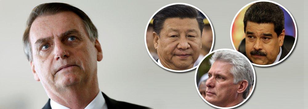Trapalhadas sobre política externa comprometem soberania nacional
