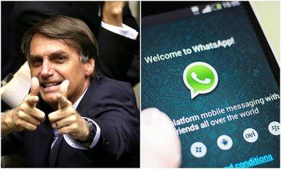 Sócio de agência investigada por fake news pelo WhatsApp integra time de Bolsonaro