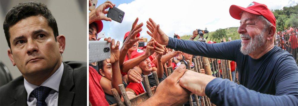 Defesa de Lula pede ao STF que seja declarada suspeição de Moro