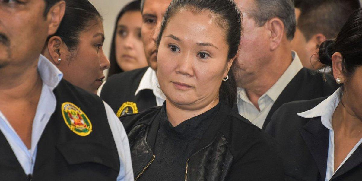 Juiz determina volta de Keiko Fujimori à prisão no Peru