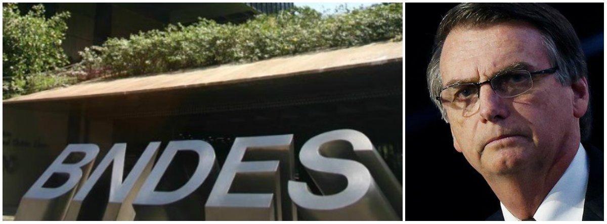 Equipe de Bolsonaro já discute extinção gradual do BNDES