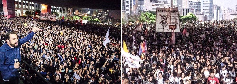 Resistência a Bolsonaro se intensifica nas ruas
