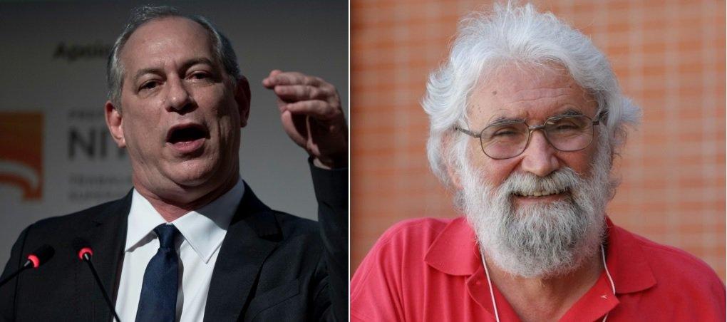 Ciro diz que o PT elegeu Bolsonaro e chama Leonardo Boff de 'bosta'