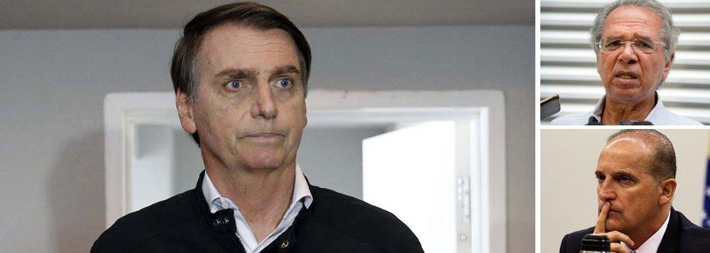 Bolsonaro turbina Guedes e fundirá Fazenda, Planejamento e Indústria