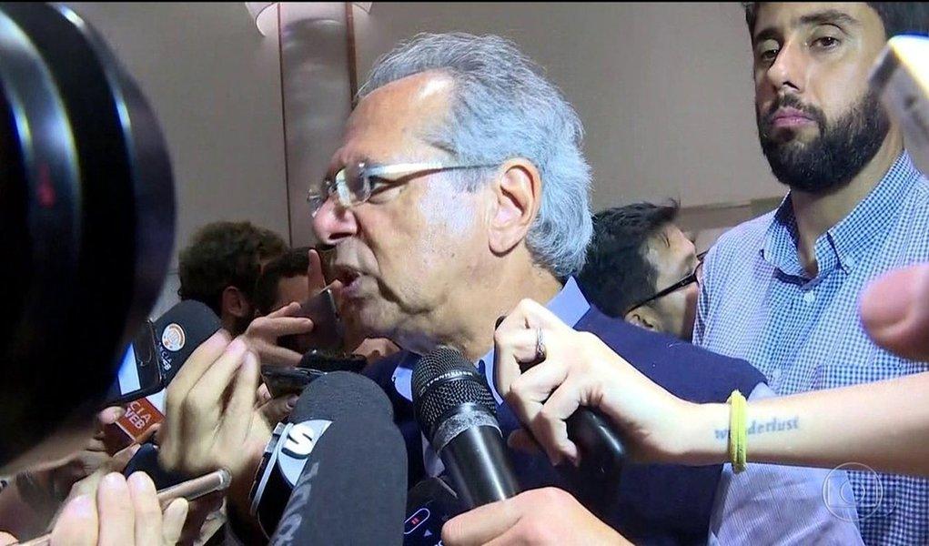Paulo Guedes, futuro ministro da Economia, já fala em reduzir reservas internacionais