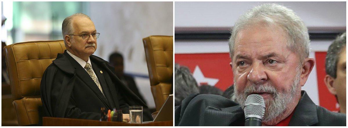 Fachin nega pedido para suspender ação de Lula em caso Odebrecht
