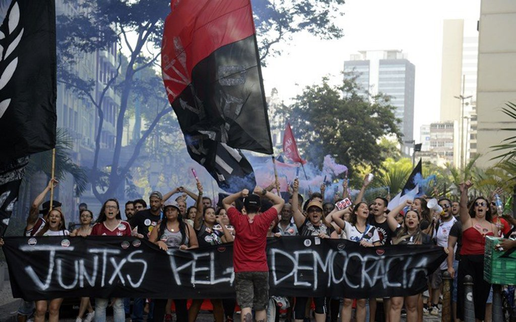 Frentes populares iniciam nesta terça atos de resistência