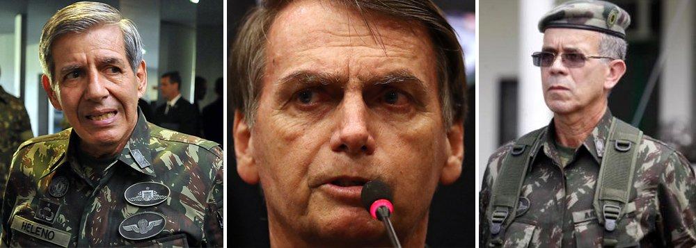 Núcleo militar quer metade dos cargos na transição Temer-Bolsonaro