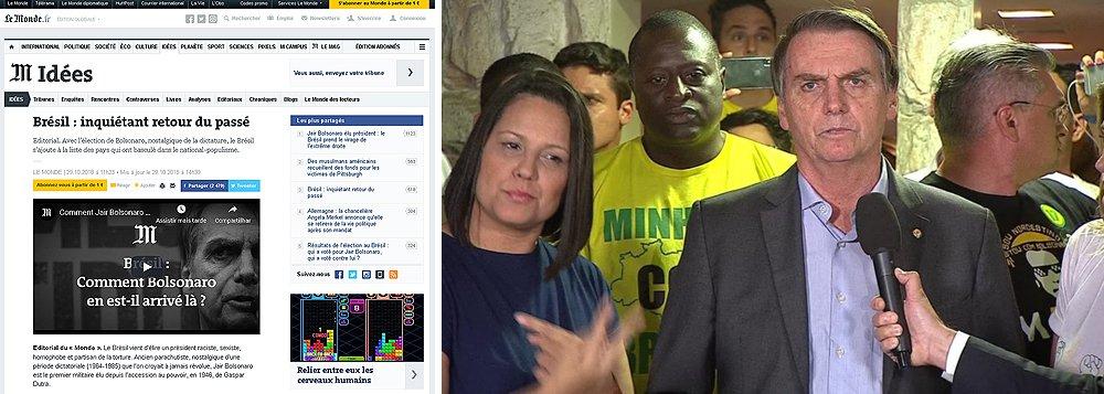 Le Monde alerta sobre a preocupante volta ao passado do Brasil