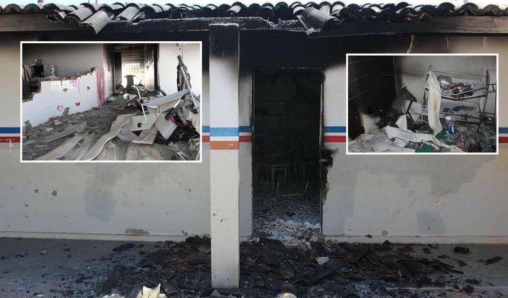 Escola e posto de saúde de atendimento a indígenas são incendiados em PE