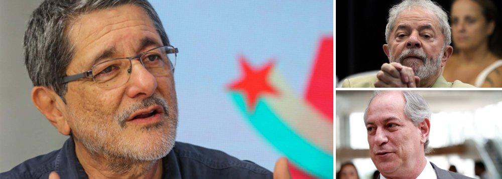 Em carta a Lula, Gabrielli pede resistência e frente democrática com Ciro
