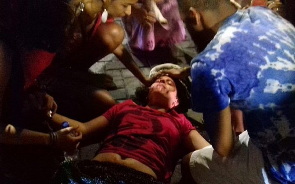 PM espanca militantes do PT em Salvador