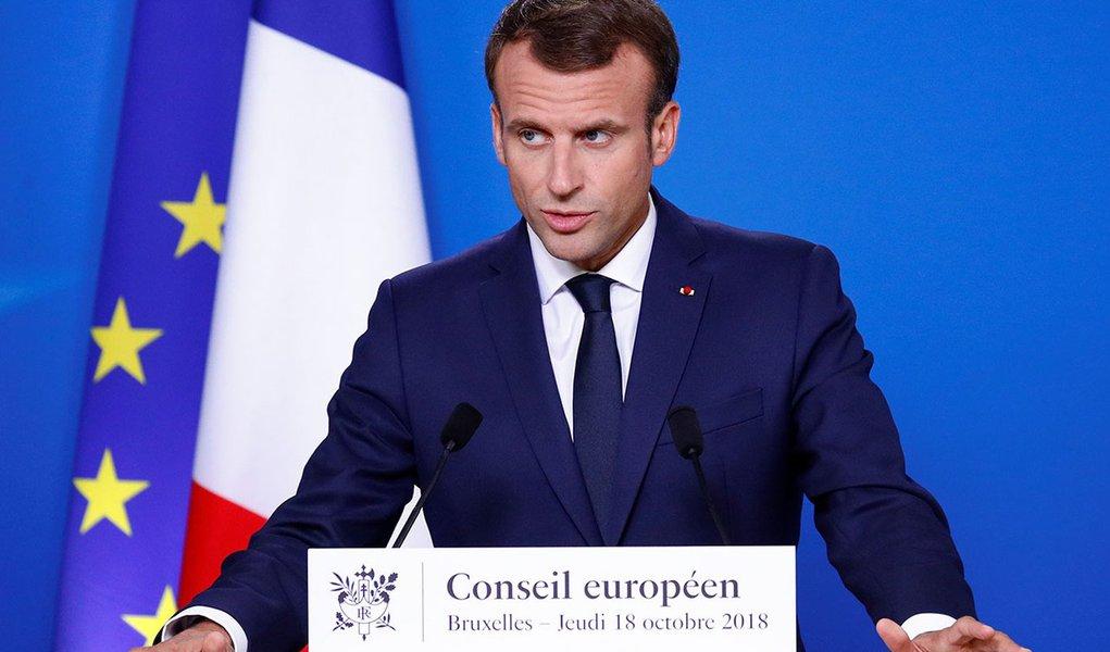 Macron diz esperar continuidade da cooperação entre a França e o Brasil