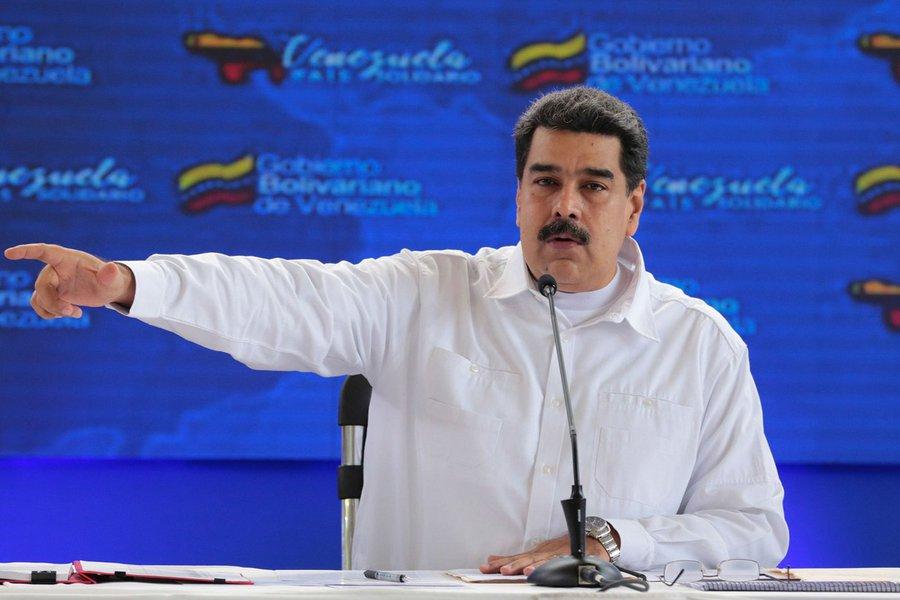 Maduro faz apelo para que governo Bolsonaro retome relações com a Venezuela