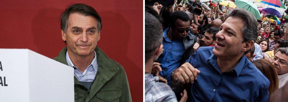 Com 55,63% dos votos, Bolsonaro é eleito presidente com projeto de ultradireita